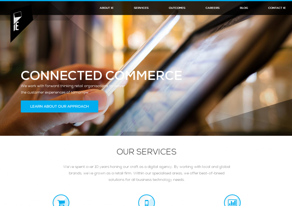 The Connected Commerce Agency  specialising in digital retail solutions