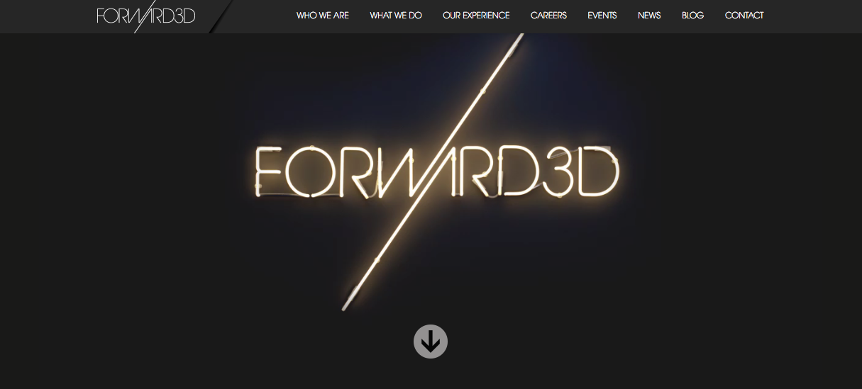Forward3D-Homepage