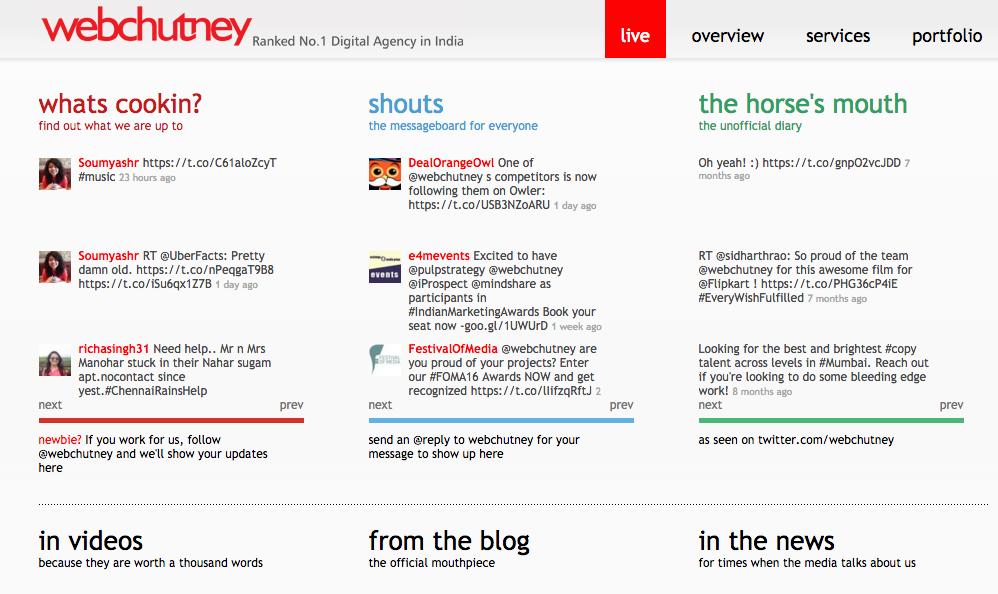 Webchutney Digital Agency India