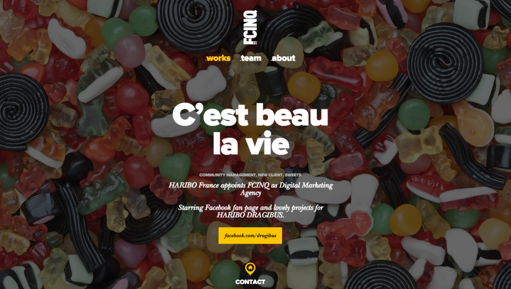 F Cinq - Paris - Digital - Agency