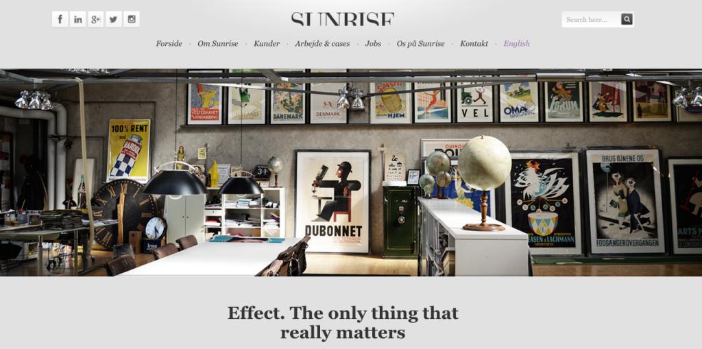 Sunrise - Digital - agency - Denmark