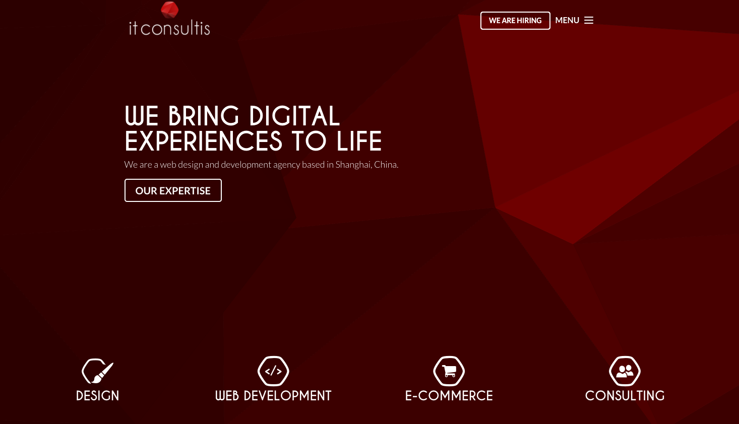 IT Consultis - Shangai - Agency - Digital