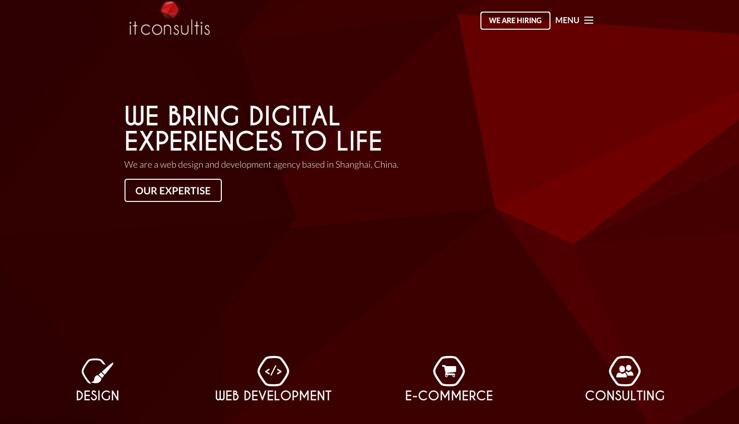 IT Consultis - Shangai - Agency - Digital