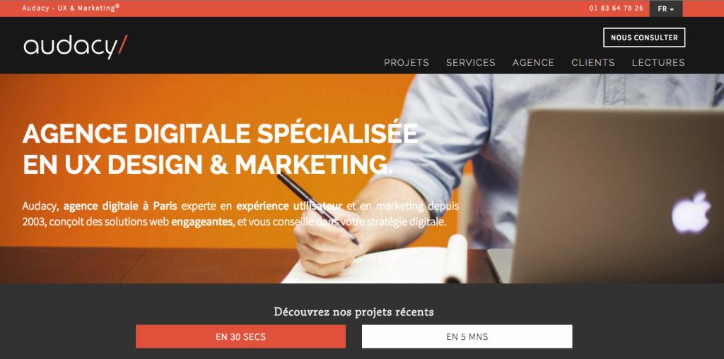 Audacy - Paris - Digital - Agency
