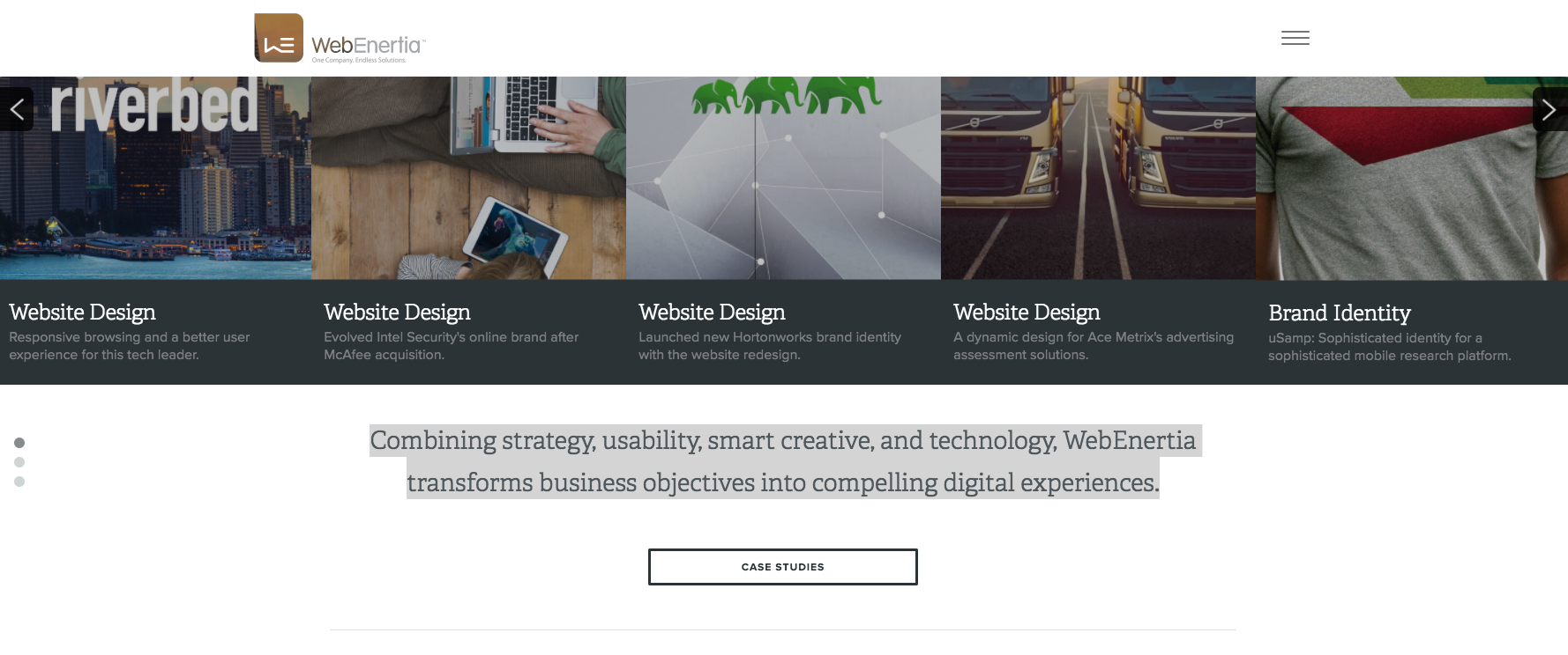 WebEnertia, Inc. - California - Agency - Digital