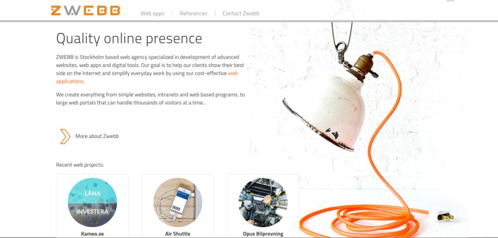 Zwebb - sweden - digital - agency