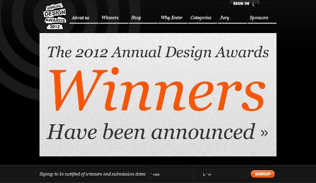 annual design awards home