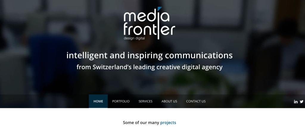 Media Frontier - Switzerland - Digital - Agency