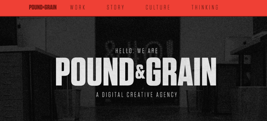 Pound Grain - Digital - Agency - Toronto