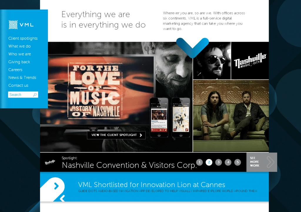 VML Full Service Digital Marketing Advertising Agency