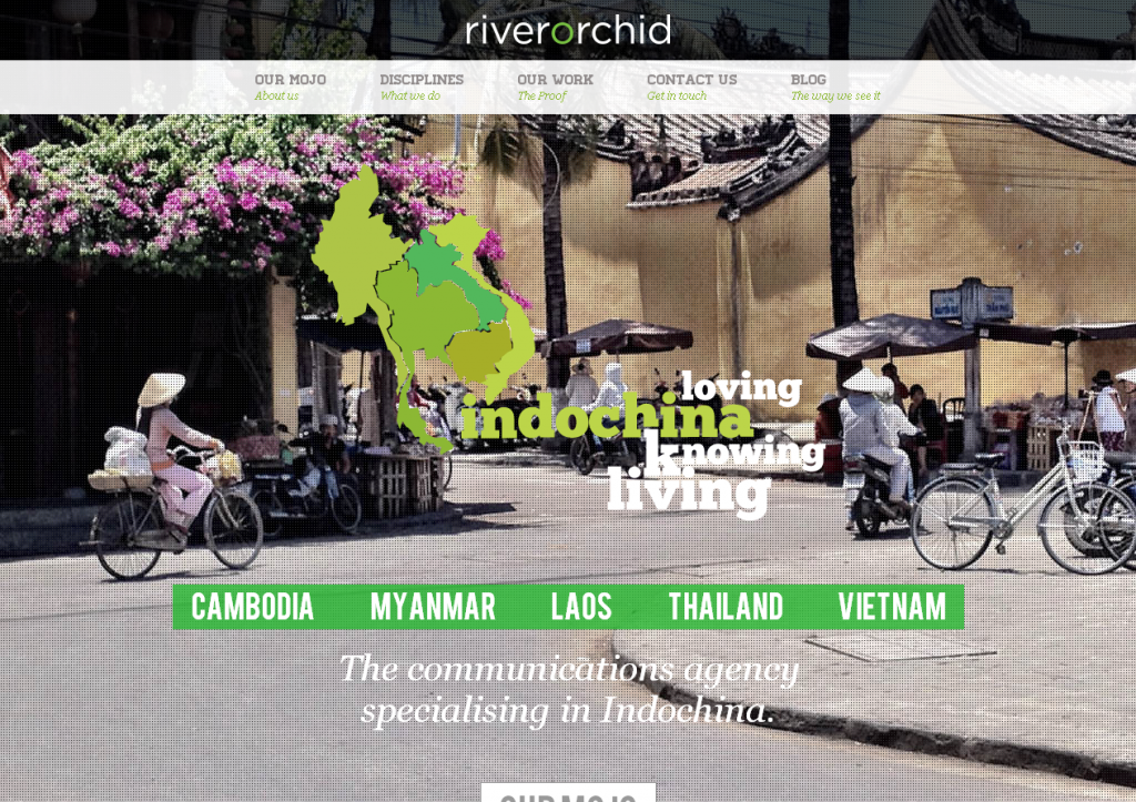 riverorchid   The communications agency specialising in Indochina.