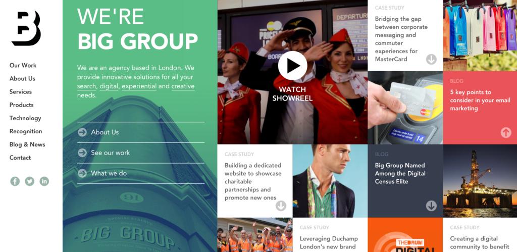 Big group - london - digital - agency