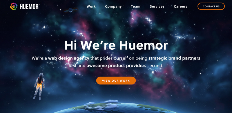 Huemor-Digital-agency-Website