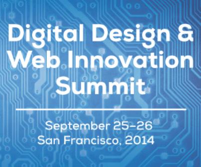 Digital design web innovation summit in san francisco for Design agency san francisco
