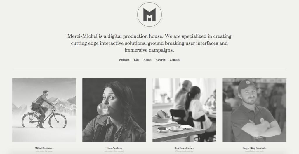Merci Michel - Paris - Digital - Agency