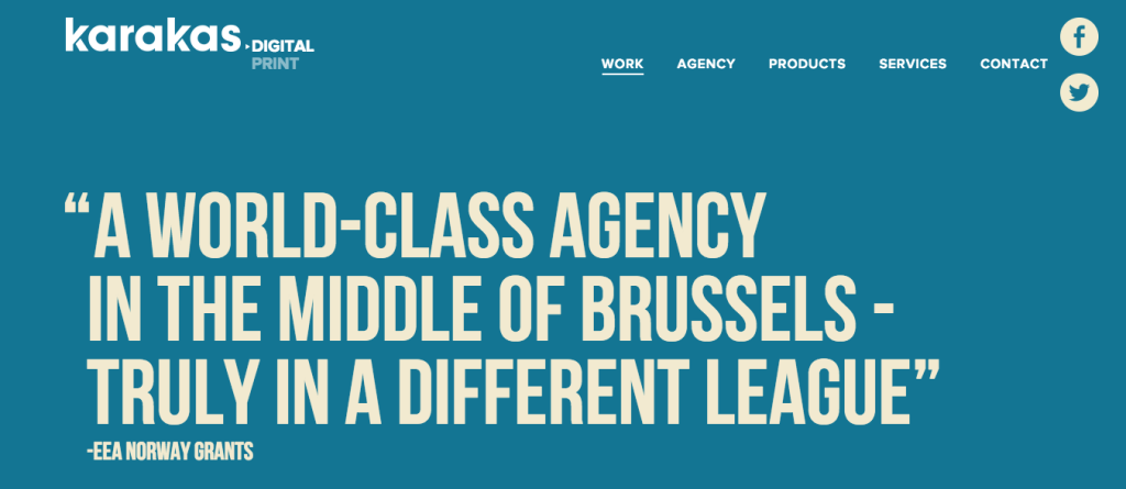 Karakas - Belgium - Digital - Agency