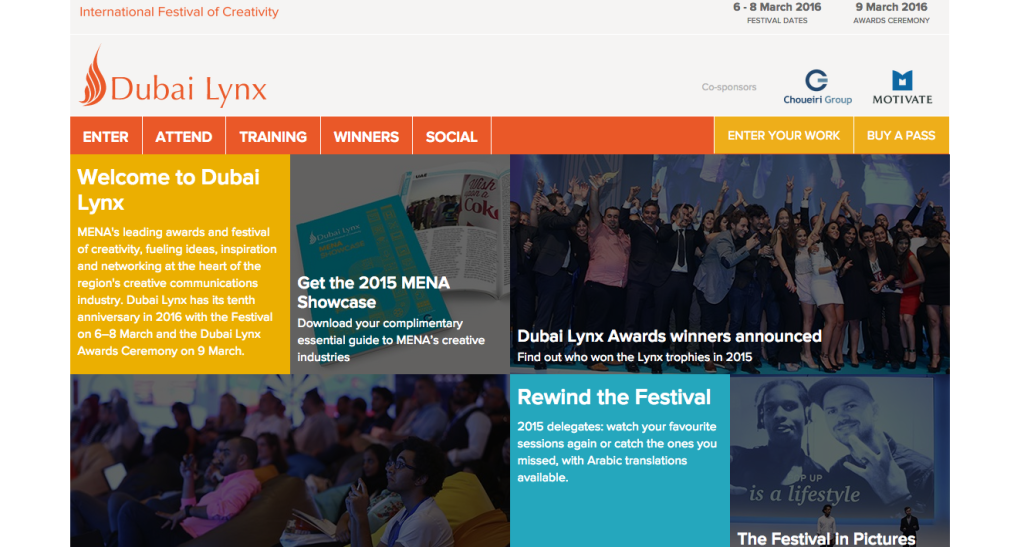 Dubai Lynx-Digital Agencies