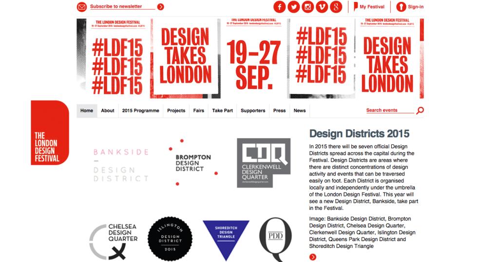 The London Design Festival-Digital-Agencies