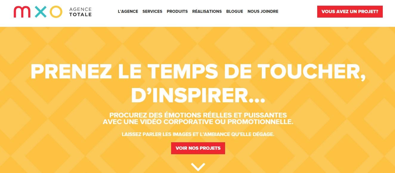 MXO Agence total Screenshot