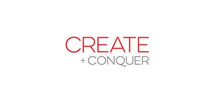 Create + Conquer Logo