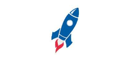 Blue Rocket Logo