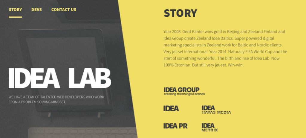Idea Lab - Digital - Agency - Tallinn