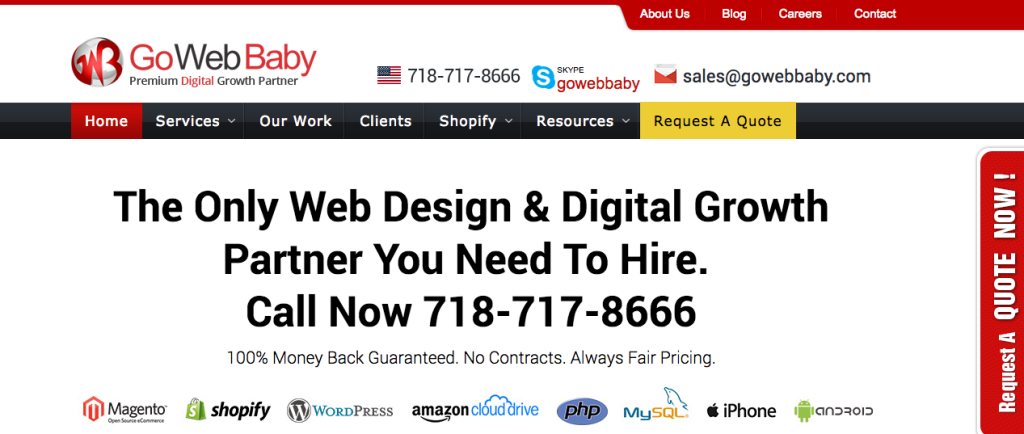 Gowebabby - Digital - Agency - USA