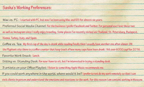 Sasha-Working-Preferences