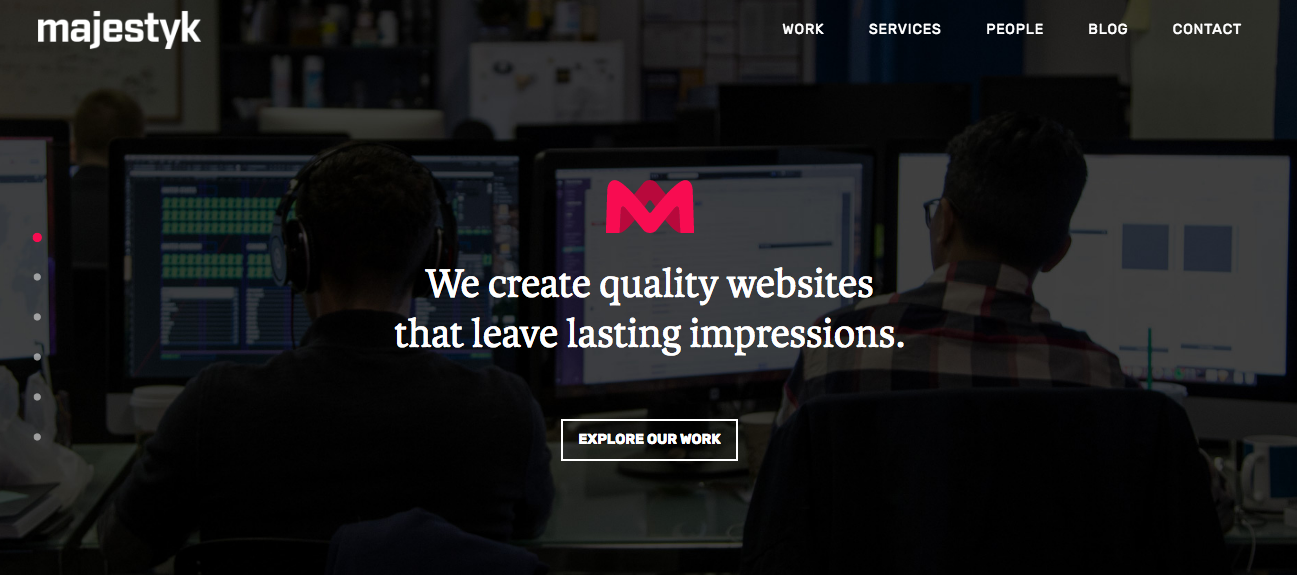 Majestyk-Homepage