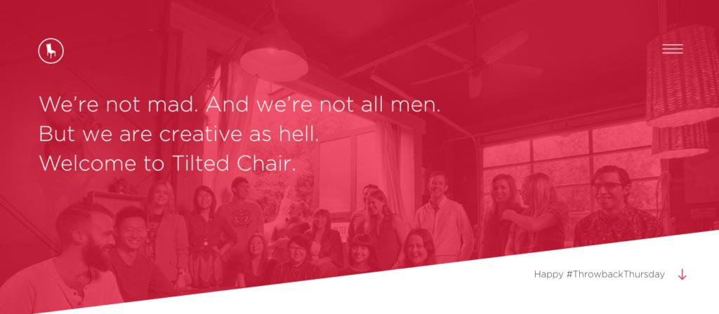 Tilted Chair Creative - Austin - Agency - Digital
