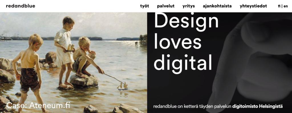 Redandblue - Finland - Agency - Digital