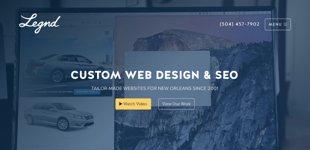 New Orleans Digital Agency - Legnd