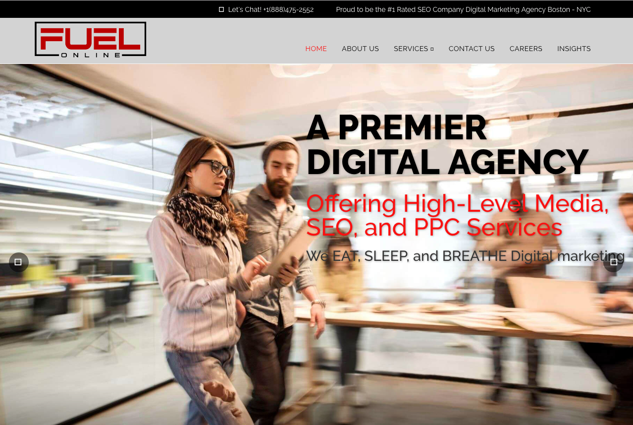 Fuel online - New York - Agency - Digital